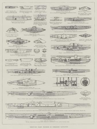 Thirty-Six Years' Progress in Submarine Navigation