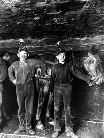 This 1908 Photo Shows Two Young Boys Working as Drivers