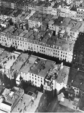 This Aerial View Shows the Site of the Projected Rockefeller Center