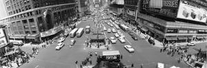 This Daytime Panoramic View, Looking North from 43rd Street, Shows New York's Times Square