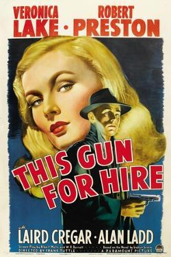 This Gun for Hire, Veronica Lake, Alan Ladd, 1942