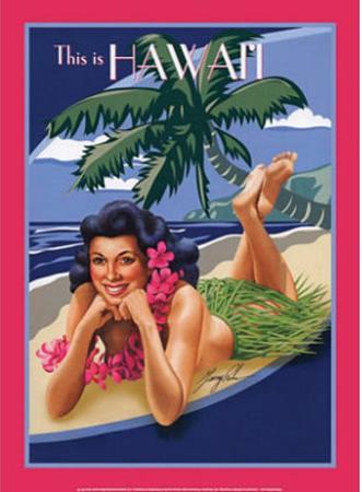 This is Hawaii Aloha Bikini Sexy Girl
