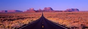 This Is Route 163 That Runs Through the Navajo Indian Reservation