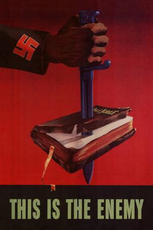 This is the Enemy Anti-Nazi - WWII War Propaganda