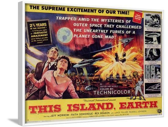This Island Earth, 1954--Framed Art Print