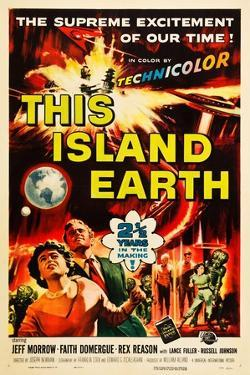 THIS ISLAND EARTH, Faith Domergue, Rex Reason, Jeff Morrow, 1955