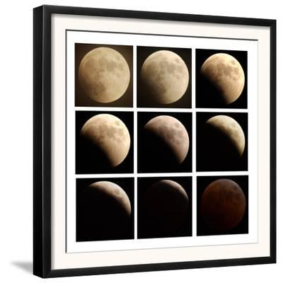 This Sequence of Photographs Shows the Total Eclipse of the Moon over Denver, Colorado