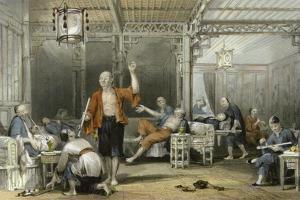 Opium Smokers by Thomas Allom