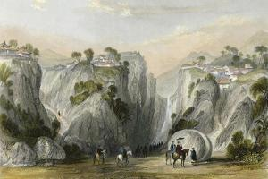 Proof Sword Rock by Thomas Allom