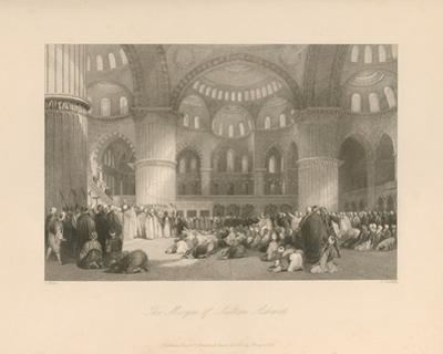 The Mosque of Sultan Achmet