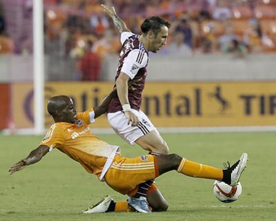 Mls: Sporting KC at Houston Dynamo by Thomas B Shea