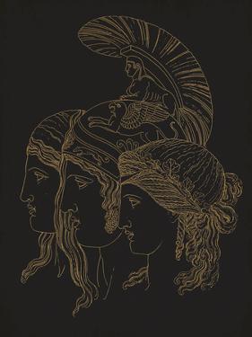 Three Grecian Heads by Thomas Baxter