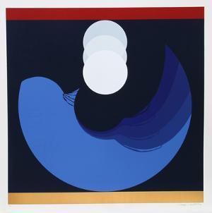 Evolution Series Blue by Thomas Benton