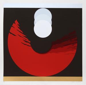Evolution Series Red by Thomas Benton
