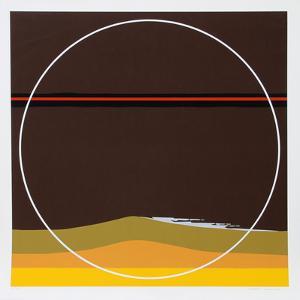 Yellow Dunes by Thomas Benton