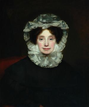 Anne Lister, 1833 by Thomas Binns
