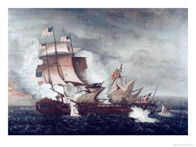 Battle of U.S.S. Constitution and H.M.S. Guerriere, War of 1812