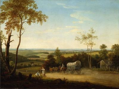 Conestoga Wagon on the Pennsylvania Turnpike, 1816