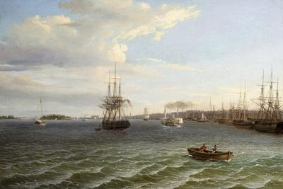 View of Philadelphia, Looking South on the Delaware River
