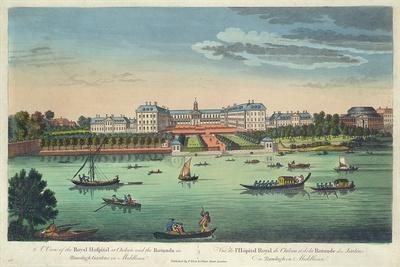 A View of the Royal Hospital at Chelsea and the Rotunda in Ranelaigh Gardens