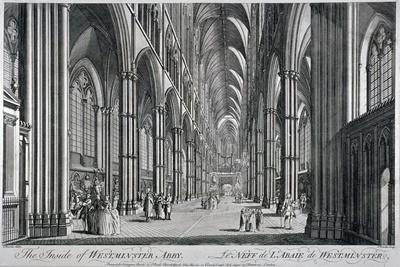 Interior View of Westminster Abbey, London, C1760