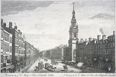 St Mary-Le-Bow, London, 1757