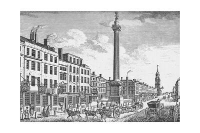 The Monument, City of London, c1755 (1903)