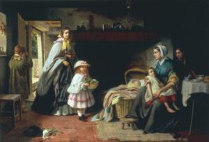 Charity, 1860 by Thomas Brooks