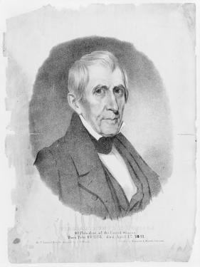 US president William Henry Harrison, 1841 by Thomas Campbell
