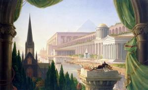 Architect's Dream by Thomas Cole