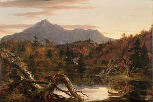 Autumn Twilight, View of Corway Peak, 1834 by Thomas Cole