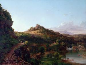 Catskill Scenery, C.1833 by Thomas Cole