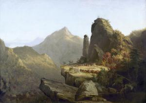 Cole: Last of the Mohicans by Thomas Cole