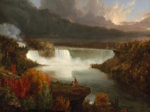 Distant View of Niagara Falls, 1830 by Thomas Cole