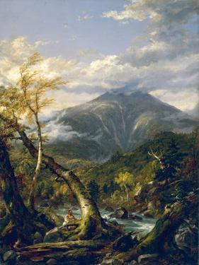 Indian Pass, 1847 by Thomas Cole