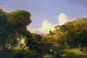 Italian Landscape, 1839 by Thomas Cole