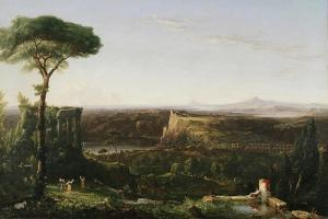 Italian Scene Composition, 1833 by Thomas Cole