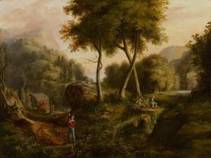 Landscape, 1825 by Thomas Cole