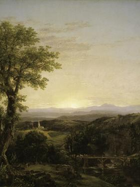 New England Scenery, 1839 by Thomas Cole