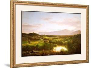 River in the Catskills by Thomas Cole