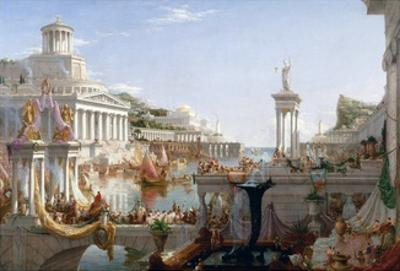 The Course of Empire - Consummation by Thomas Cole