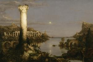 The Course of Empire: Desolation, 1836 by Thomas Cole