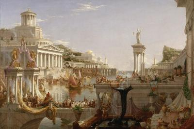 thomas coles the course of empire The course of empire by thomas cole (201)mp3 in the late 1820s a young thomas cole quickly built a successful career as a painter of hudson river landscapes, but he what he really wanted was to paint landscapes that had a greater purpose.