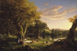 The Pic-Nic, 1846 by Thomas Cole