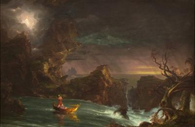 The Voyage of Manhood: Manhood, 1842 by Thomas Cole