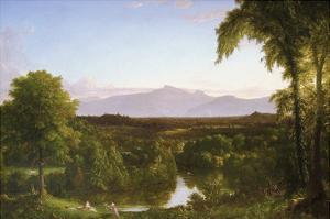 View on the Catskill - Early Autumn by Thomas Cole