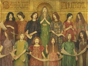 Alleluia by Thomas Cooper Gotch
