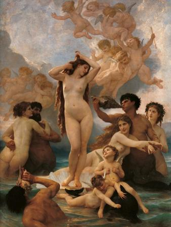 Birth of Venus by Thomas Couture