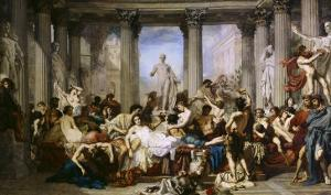 The Romans of Decadence, c.1847 by Thomas Couture