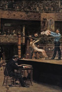 Between Rounds by Thomas Cowperthwait Eakins
